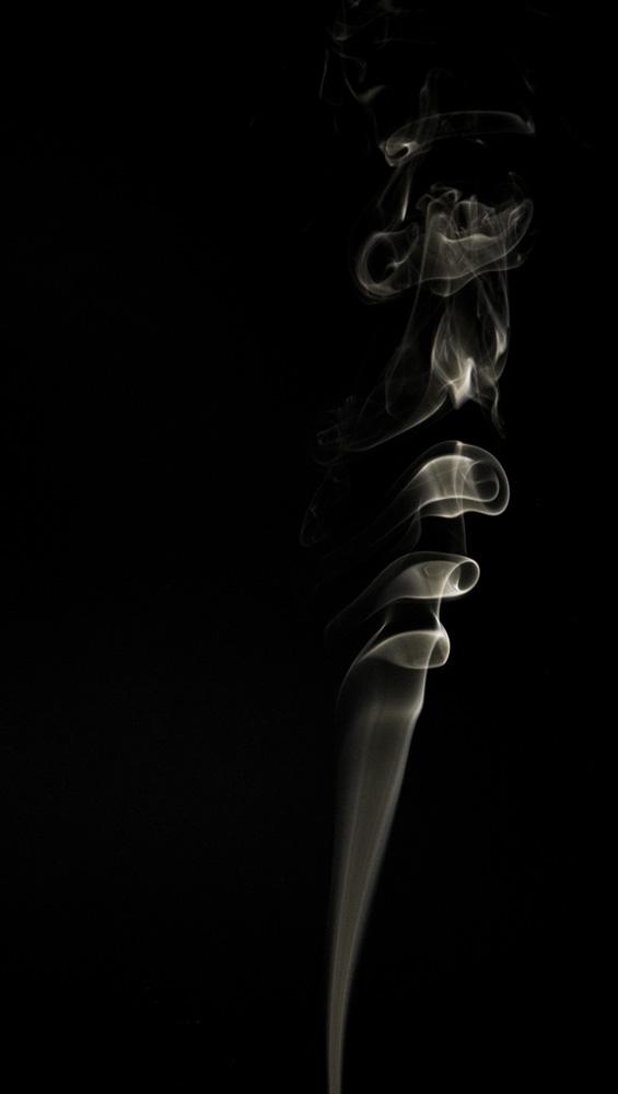 """Aus meiner ersten Serie mit """"Rauchbildern"""""""