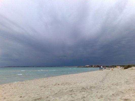 aus Palma kommt das Dunkel