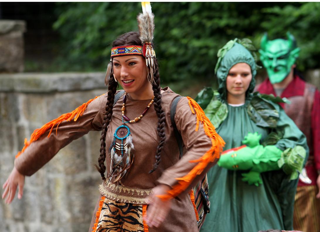 aus Peter Pan - Kindermusical Freilichspiele Tecklenburg -