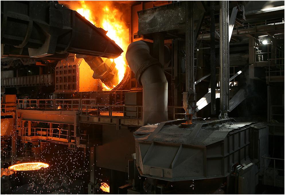 Aus Schrott wird Stahl