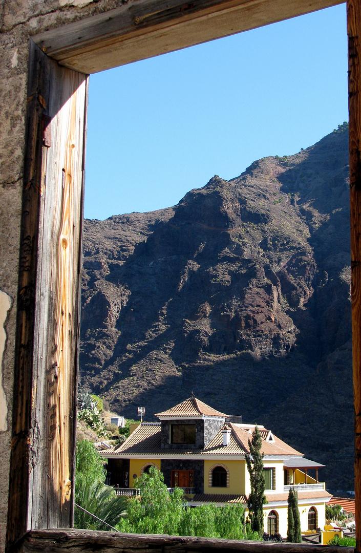 Ausblick alte Schule Calera