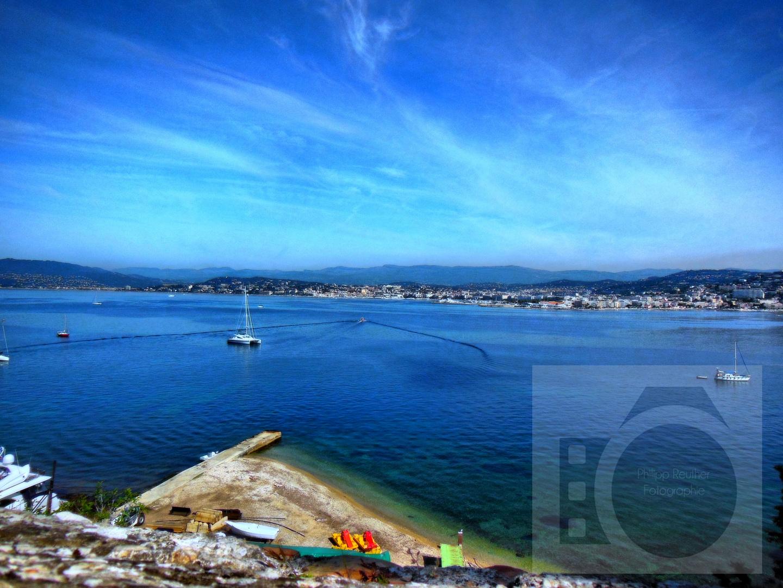 Ausblick auf Cannes- Frankreich