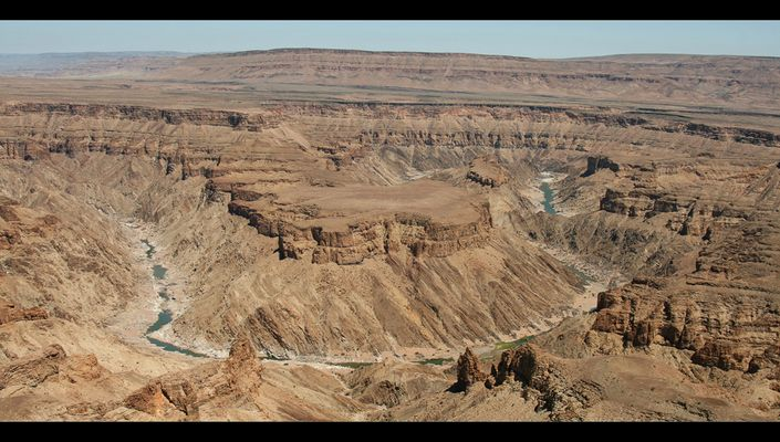 Ausblick auf den Fish River Canyon
