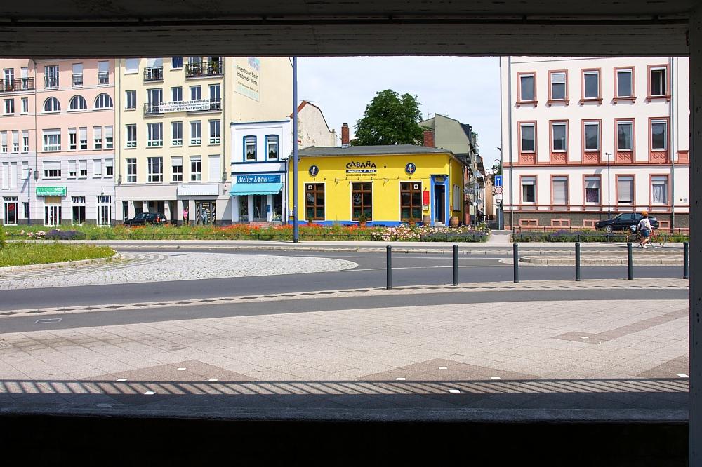 Ausblick auf die Berlliner Straße