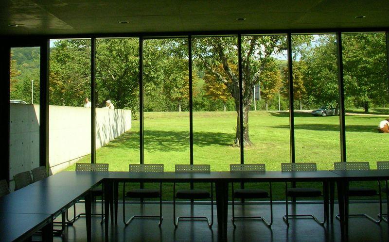 Ausblick auf die Kirschbaumwiese