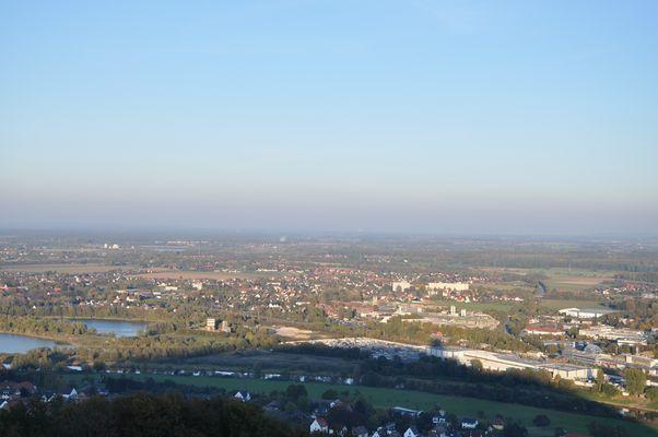 Ausblick auf die Landschaft voum Porta Westfalica
