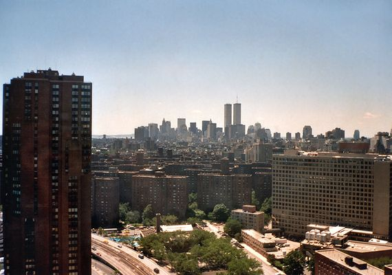 Ausblick auf Downtown Manhatten 1996
