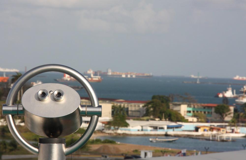 Ausblick auf Panama