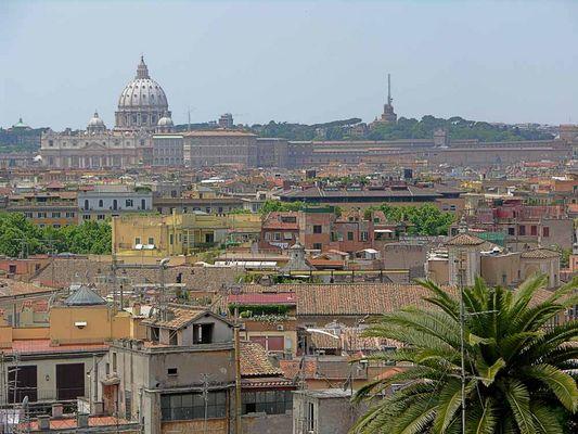 Ausblick auf Rom vom Pincio I