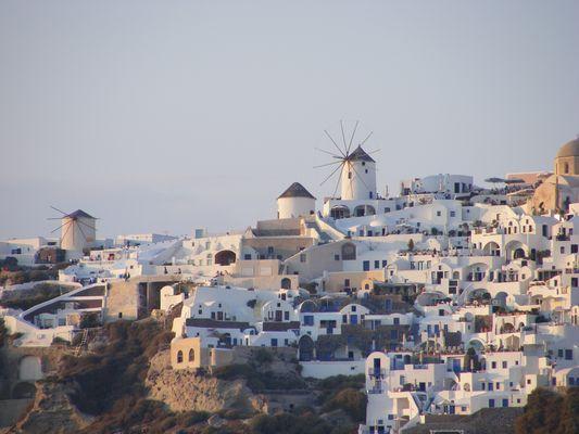 Ausblick auf Santorin