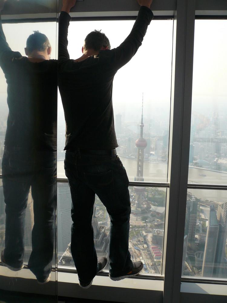 Ausblick auf Shanghai