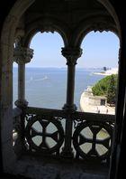 Ausblick aus dem Torre de Belem