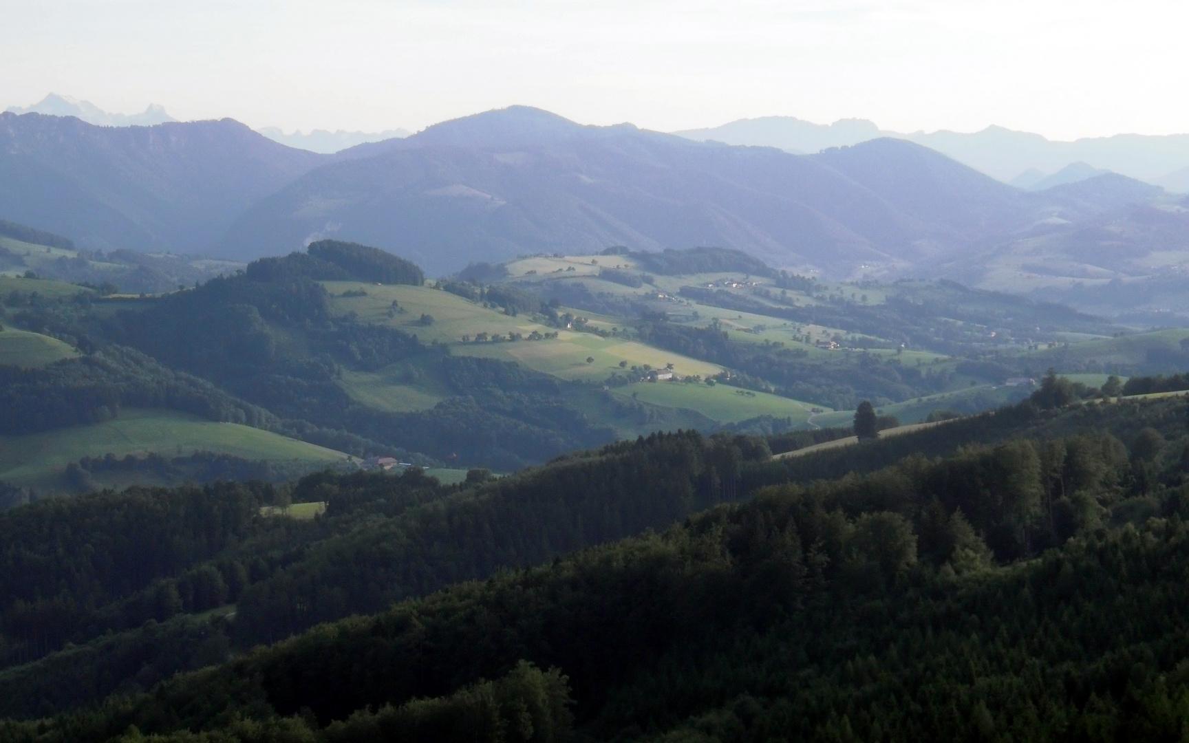Ausblick Dambergwarete