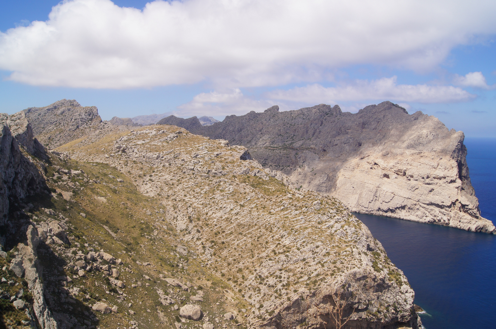 Ausblick Formentor (Spanien)
