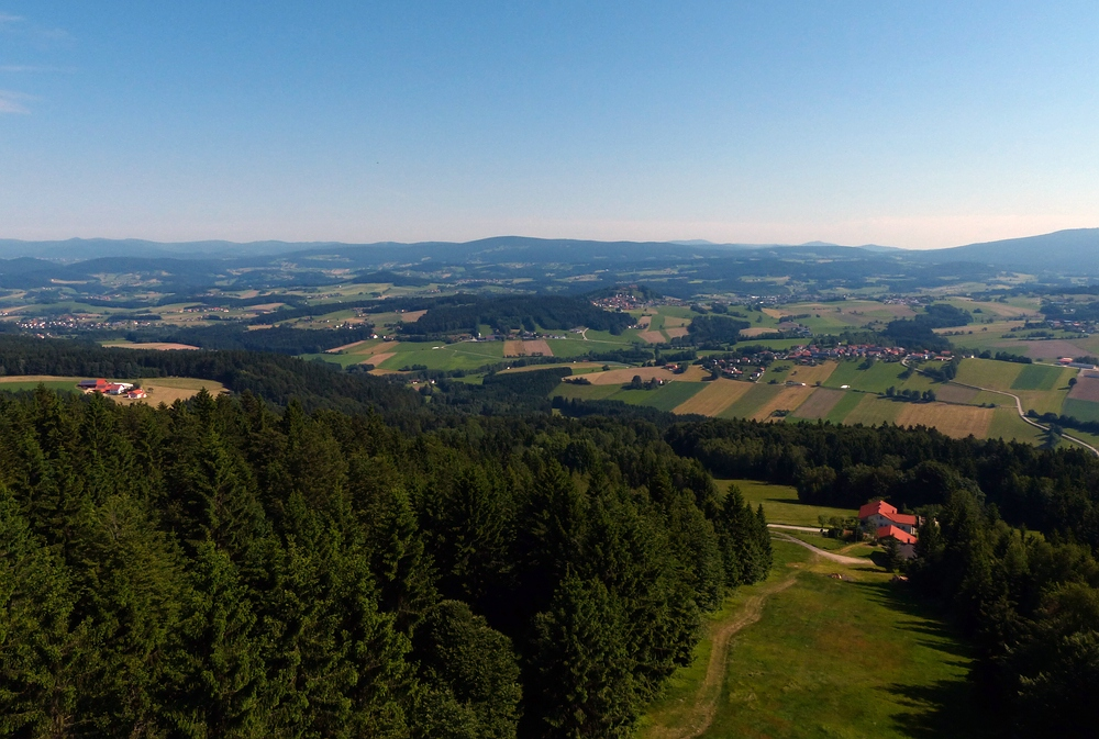 Ausblick in den Bayerwald
