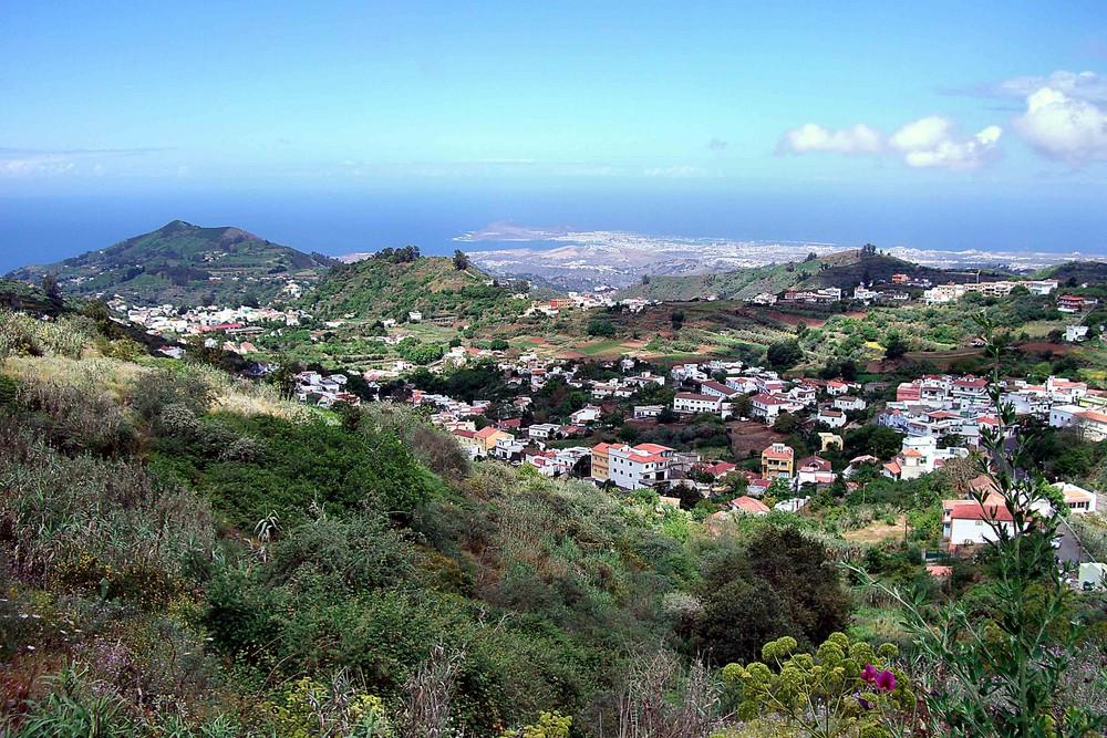 Ausblick in Richtung Las Palmas