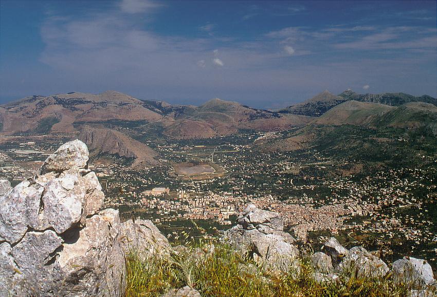 Ausblick über Carini und Toretta (Reload)