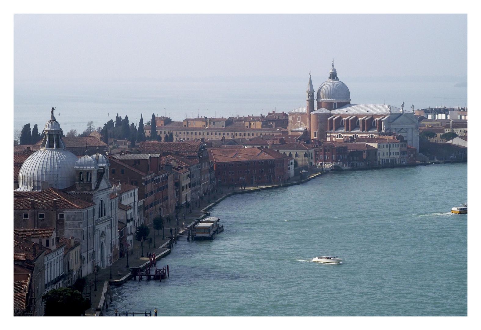 Ausblick vom Campanile St Giorgio Maggiore