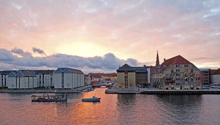 Ausblick vom Hotel Strand auf das Dänische Architektur Centrum