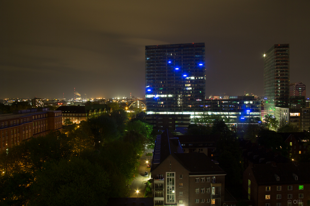 Ausblick vom Motel One in St,Georg