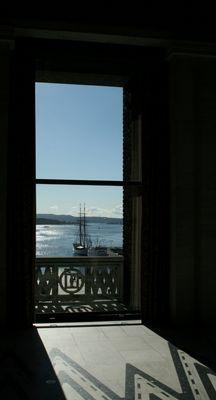 Ausblick vom Rathaus in Oslo
