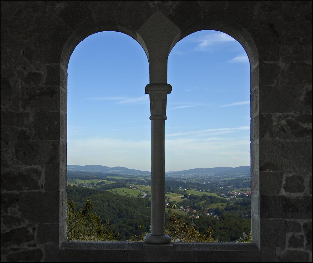 Ausblick von der Wachenburg,