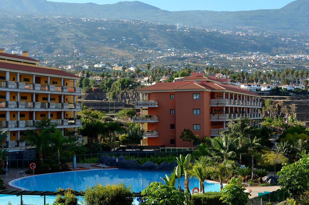 Ausblick von meinem Balkon in Puerto de la Cruz