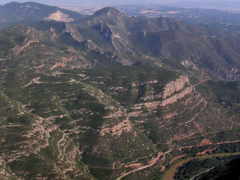 Ausblick von Montserrat