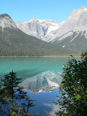 Ausblicke am Emerald Lake