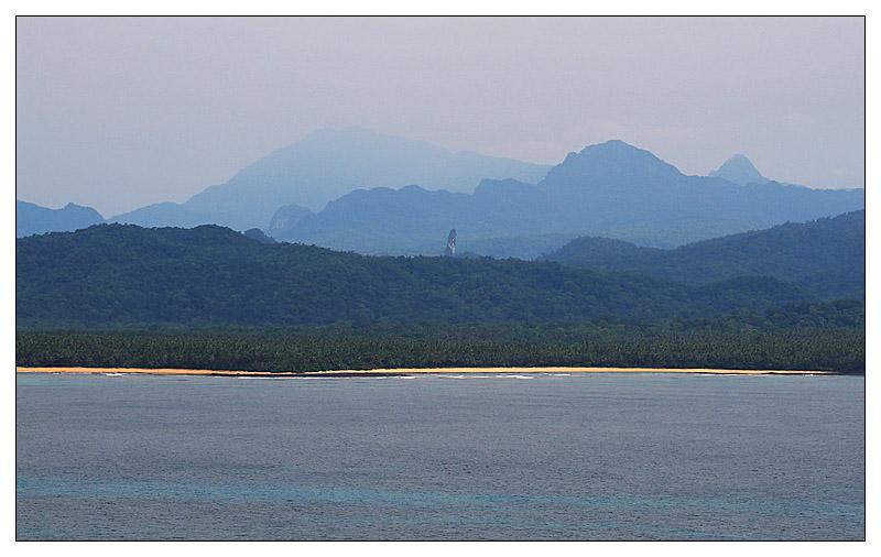 Ausblicke von Ilhéu das Rolas - São Tomé e Príncipe