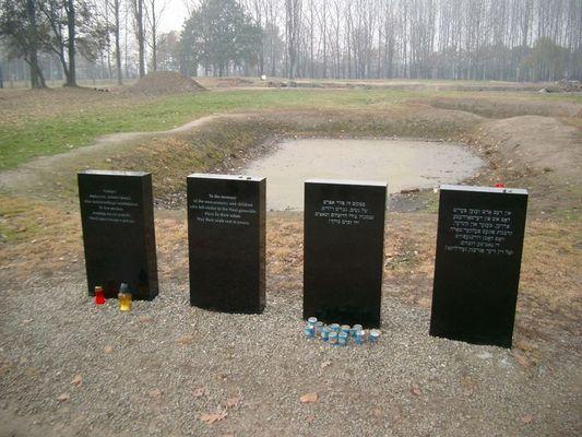 """Auschwitz II - Birkenau """"Gedächtnistafel"""""""
