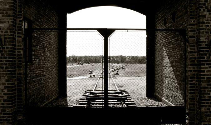 Auschwitz II-Birkenau  -  il cancello