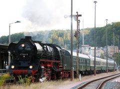 Ausfahrt aus dem Bahnhof Greiz_2