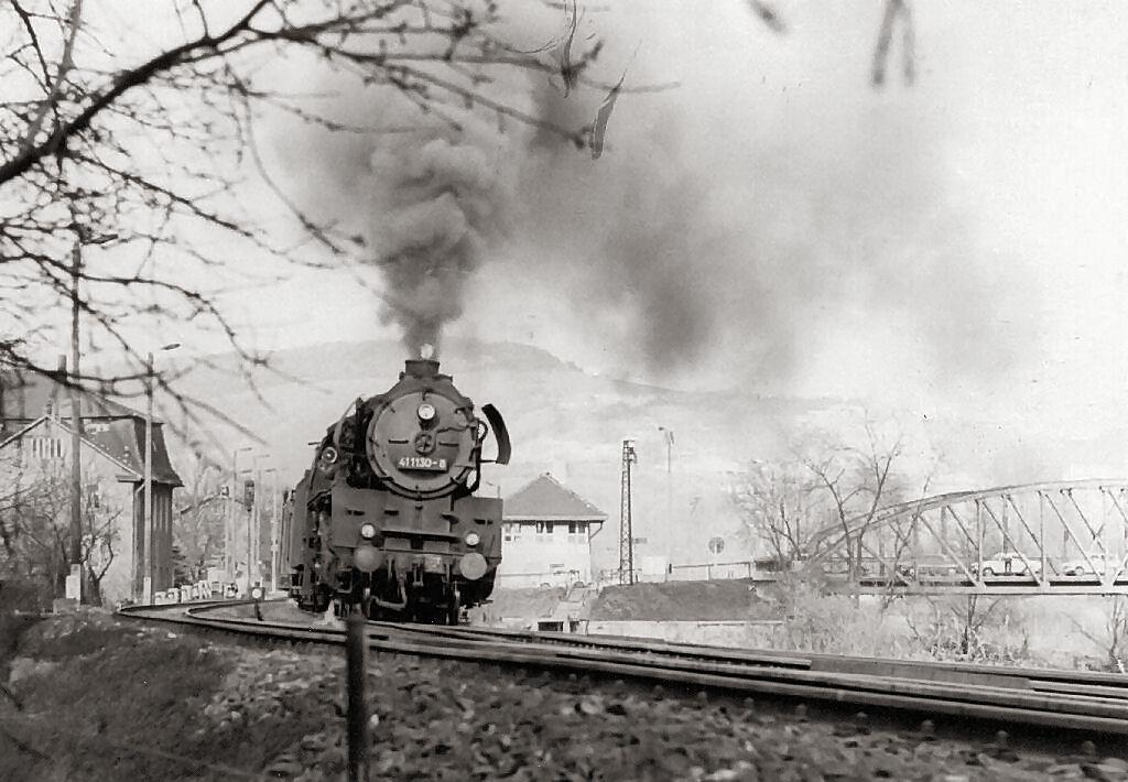 Ausfahrt aus Gleis 3