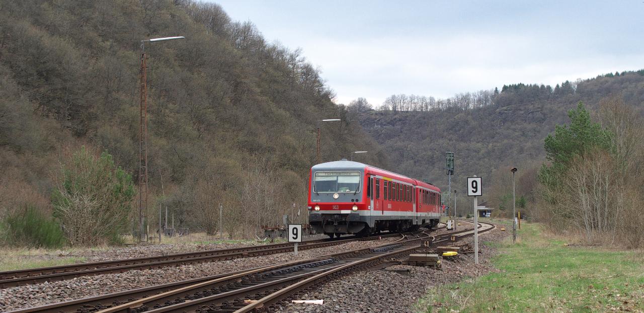 Ausfahrt Heimbach an der Nahe
