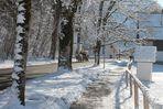Ausfahrt im Schnee