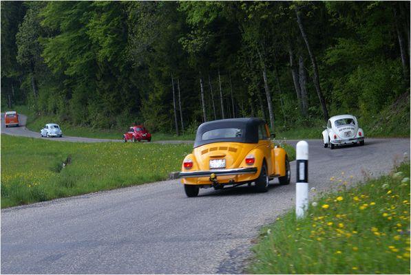 Ausfahrt ins Grüne mit dem Käferclub Bern