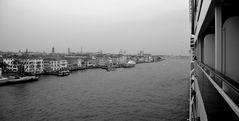 Ausfahrt Venedig mit MSC Poesia