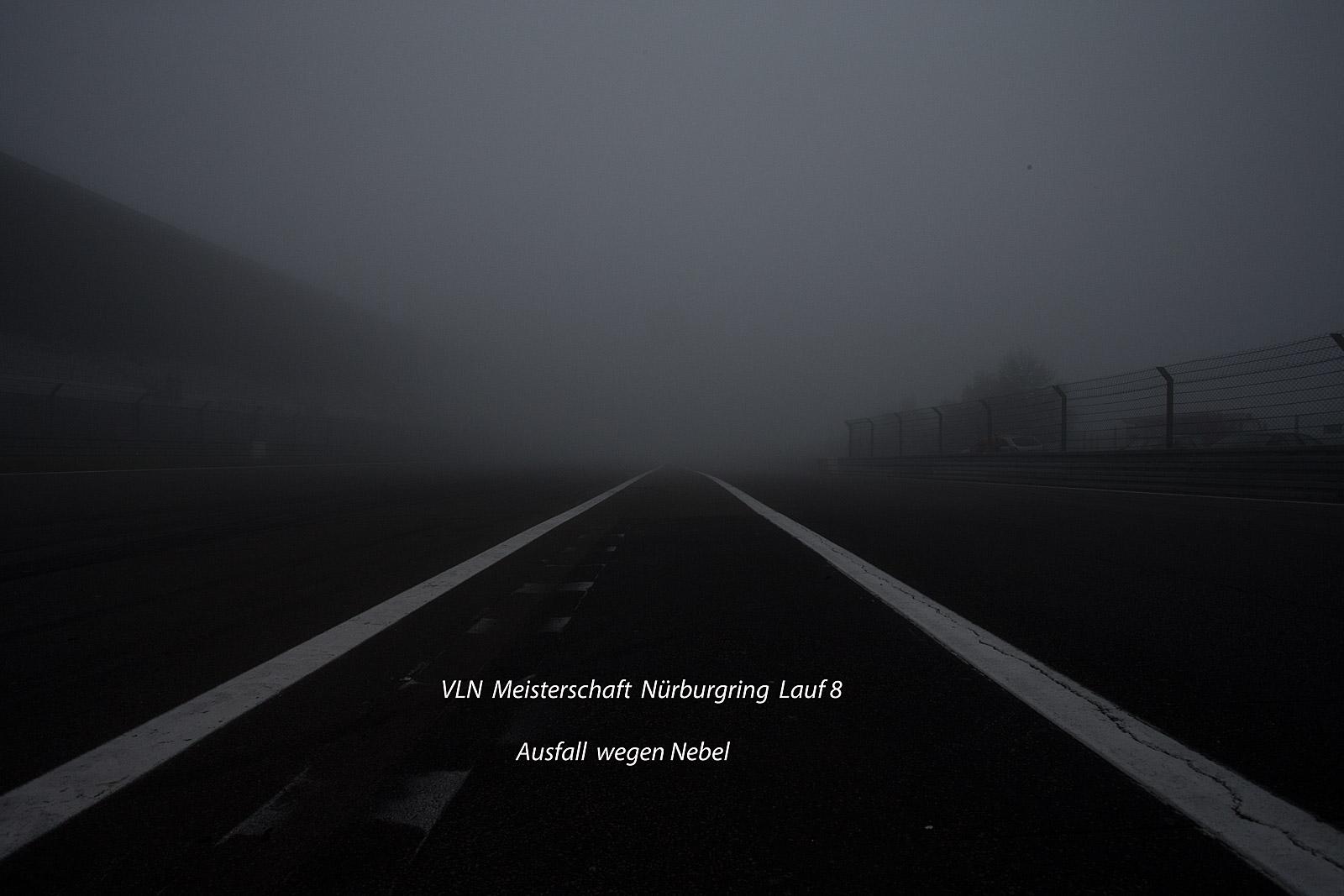 Ausfall wegen Nebel