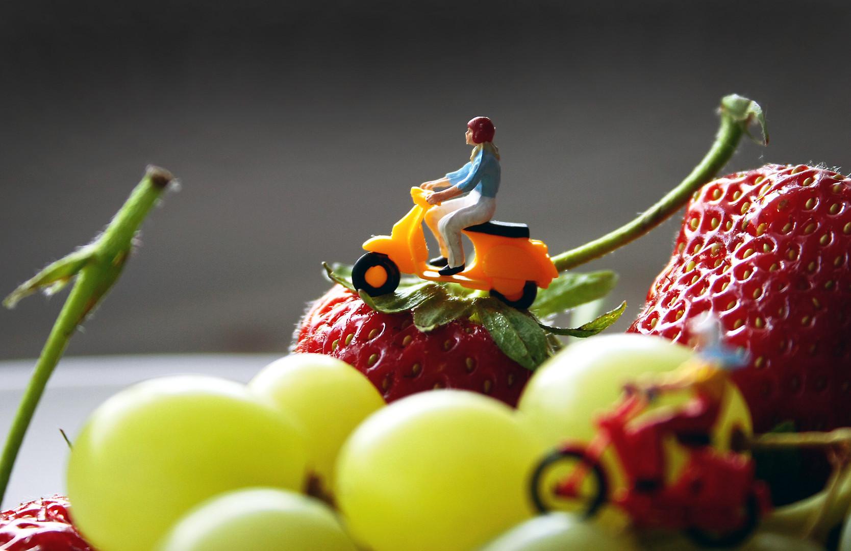 Ausflug auf dem Erdbeerberg ;)