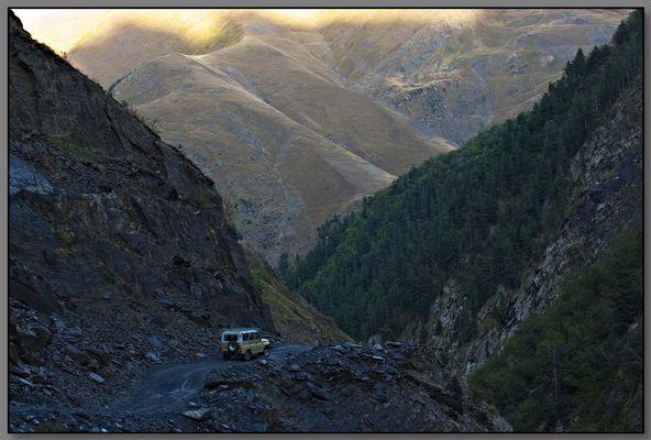 Ausflug im Kaukasus