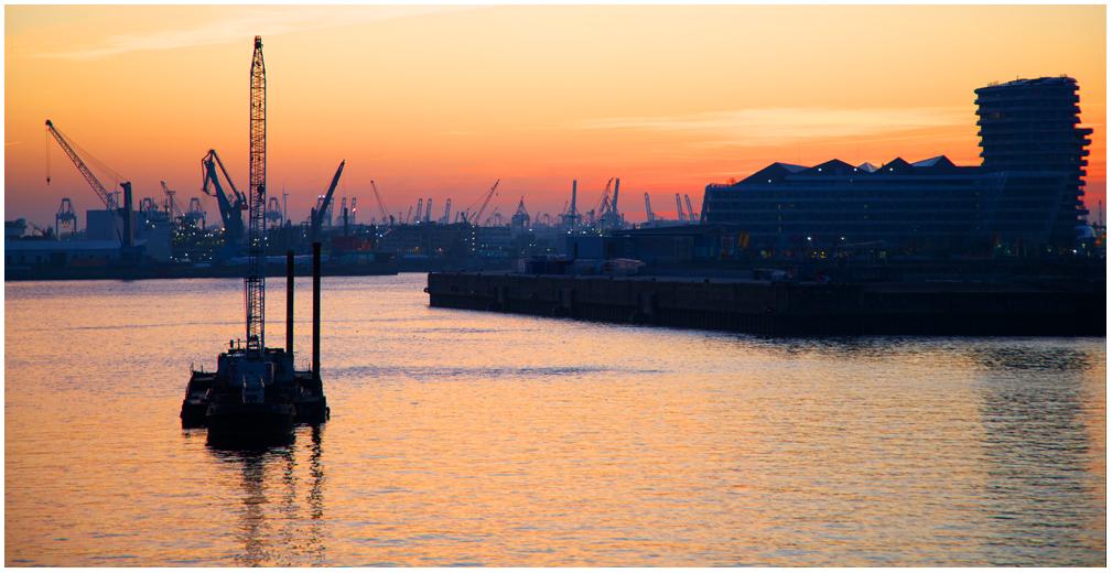 Ausflug in den Hafen ....
