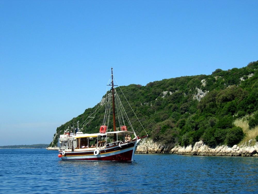 Ausflug mit dem Schiff
