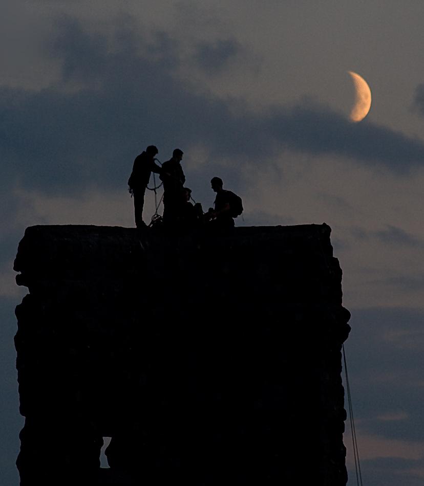Ausflug zum Mond....