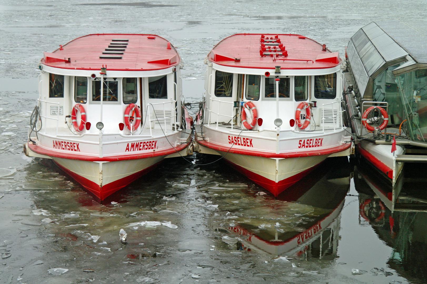 Ausflugsboote/Alster