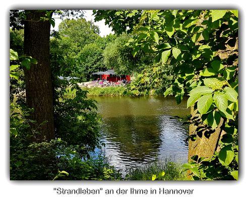 Ausflugsziel an der Ihme in Hannover