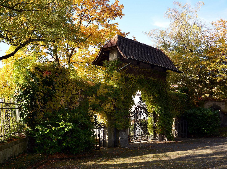 Ausgang Friedhof Enzenbühl, Zürich