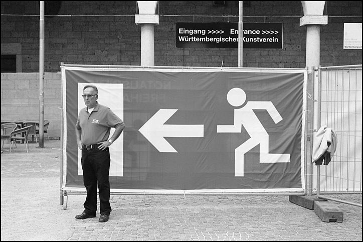 Ausgang - Stuttgart 2011