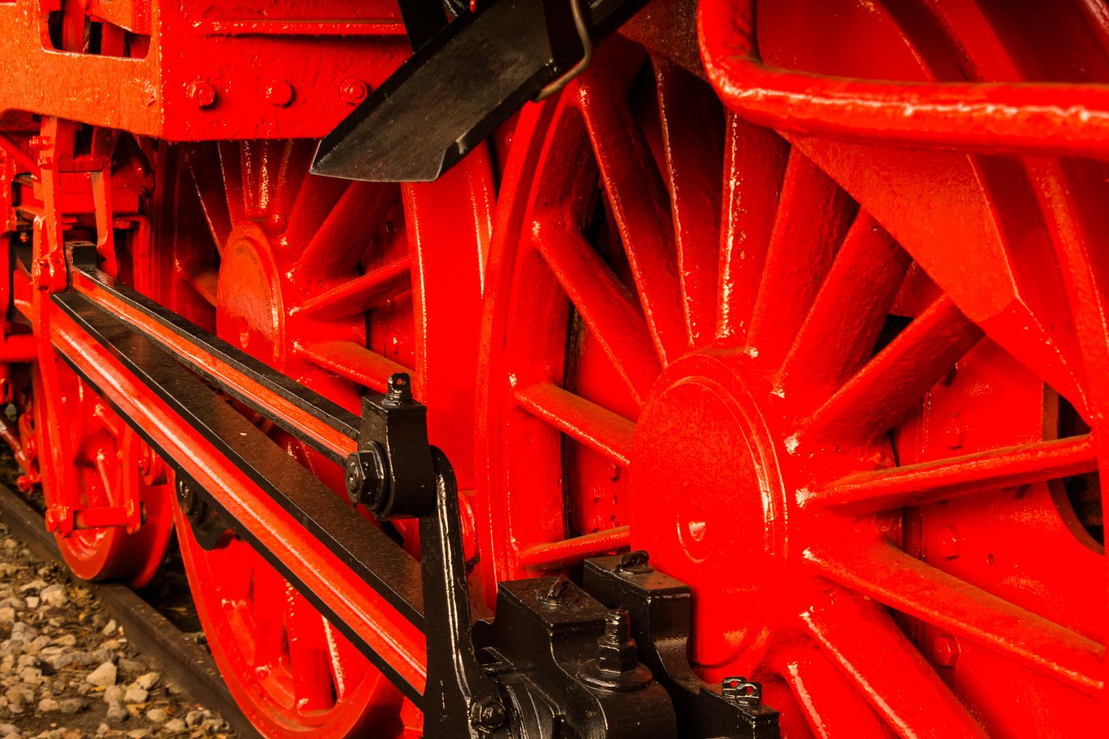 ausgedient - alte Dampflokomotive/Hannover-Garbsen