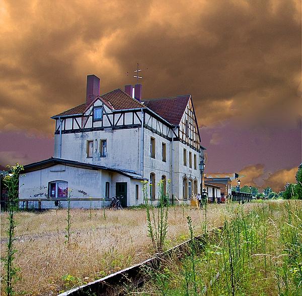 Ausgedienter Bahnhof